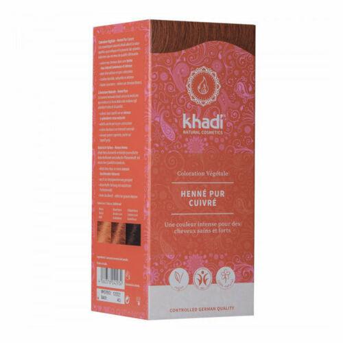 Khadi : Henné Pur Cuivre