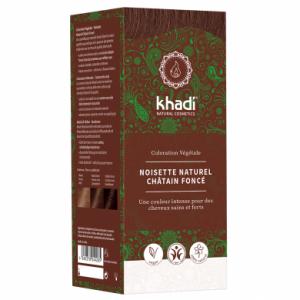 Khadi : Noisette Naturel Châtain Foncé