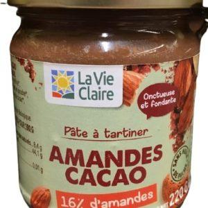 Pâte à tartiner - Amandes Cacao