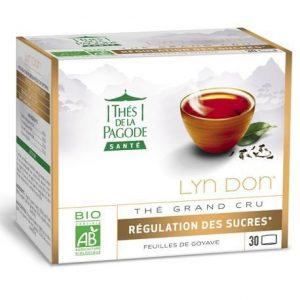Thés de la pagode Lyn don régulation des sucres
