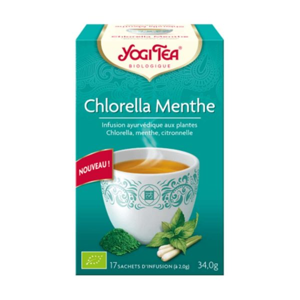 Yogi Tea chlorella-menthe