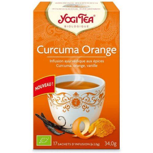 Yogi Tea : Curcuma orange