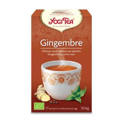 Yogi Tea : Gingembre