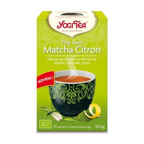 Yogi Tea : Thé vert Matcha citron