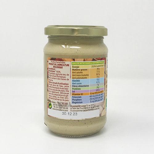 puree-de-cacahuetes-ingredients
