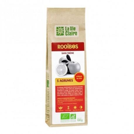 Rooibos : 5 agrumes